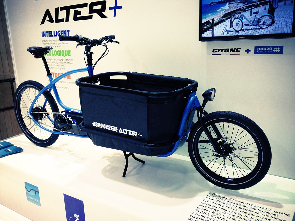 Salon Du Cycle 2013 Cargobikes Factory